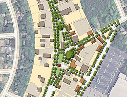 DRAFT VISION - public green spaces