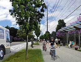 DRAFT VISION - enhanced transit