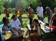 Emerald City art community.  Eco-urban pioneers:  growing, rehabbing old houses, building community, and having a good time!