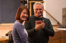 Academy Award Winning composer John Corigliano works with UMKC Composition student He Yuan Yuan in his November, 2012 master class.