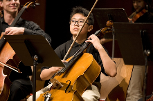 Engaging with emerging musicians through Musical Bridges.