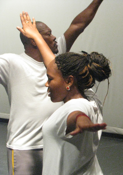 Dance sessions at Ruskin High School with Conservatory faculty.