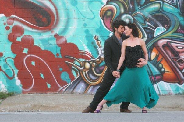 Tango, Wall Art, Photography, Music = HEY that's interdisciplinary!!