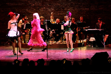 New Century Follies at the historic vaudeville Folly - Mae West alumni..  <br/>Note the Peoples Liberation Big Band!