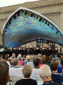 The Kansas City Symphony at Union Station!