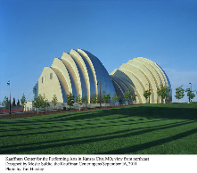 The beautiful Kauffman Center for the Performing Arts brings extraordinary performances to the heart of Kansas City!