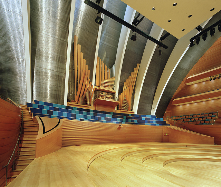 Helzberg Hall at the Kauffman Center houses this incredible Casavant Organ & is the performance home of the KC Symphony! Photo: Tim Hursley