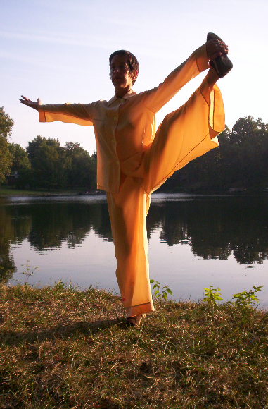 Qigong is the most widely practiced daily health activity in the world.  Ms. Debbie Borel is also a theater major, a coreographer, & singer