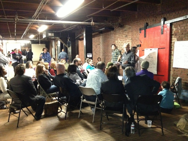 Community volunteers lead discussion about KCMO's arts and cultural life!