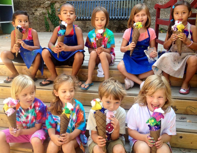 Summer Art Camp at the Mattie Rhodes Art Center