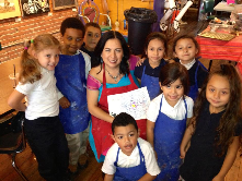Mattie Rhodes Art Center After School Arts Program loved working with international artist Betsabeé Romero!