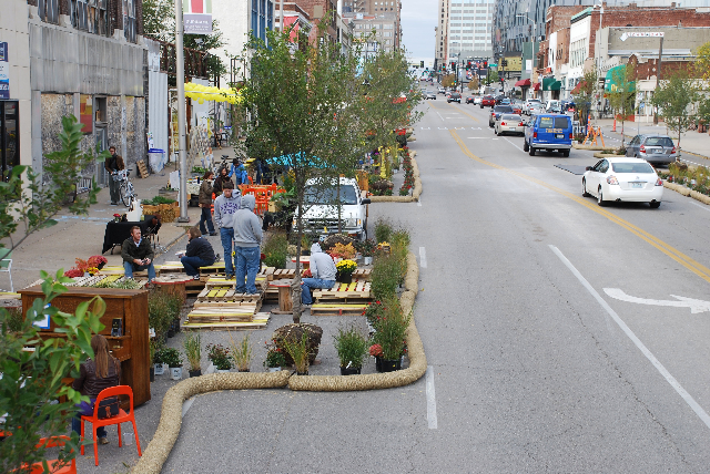 Better Block KC transformed Grand Blvd for 24 hrs into a livable, complete street.