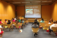 The PlanPHX event hosted by the Girl Scouts