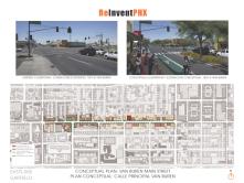 Conceptual Plan: Van Buren Main Street