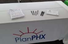 PlanPHX at the Color Canalscape event!