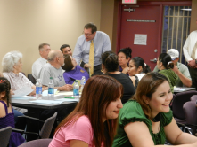Councilman Simplot with attendees at the PlanPHX meeting at Golden Gate Community Center on October 2, 2012