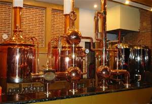 Microbrewery in the old fire station
