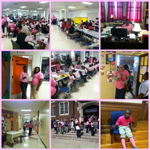 Phillips Academy goes PINK for Breast Cancer Awareness Month!