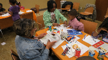 Birmingham Parent University: Family Creative Arts Night at Powderly Library