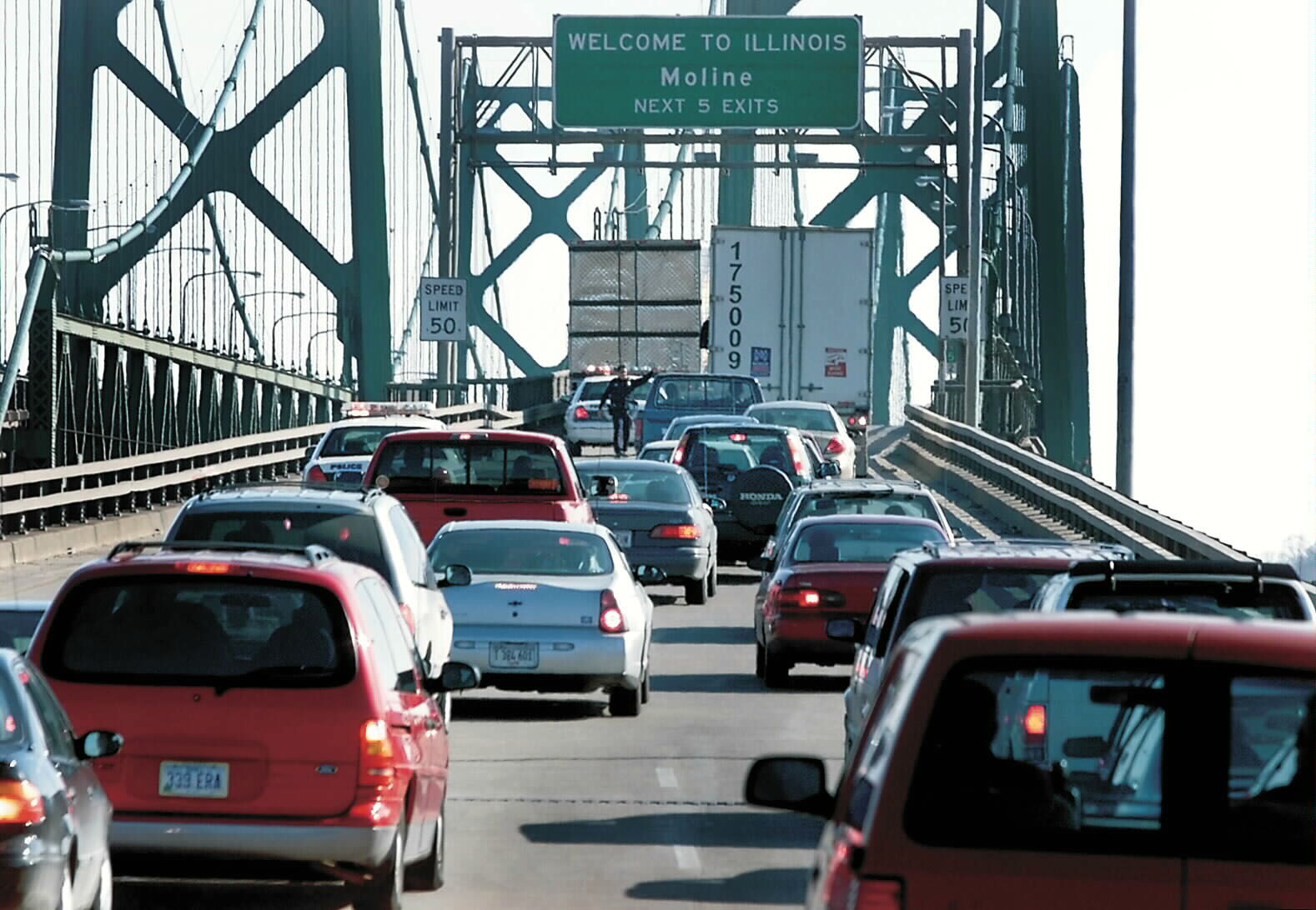 Idea Map: Congested Areas of the Greater Quad Cities