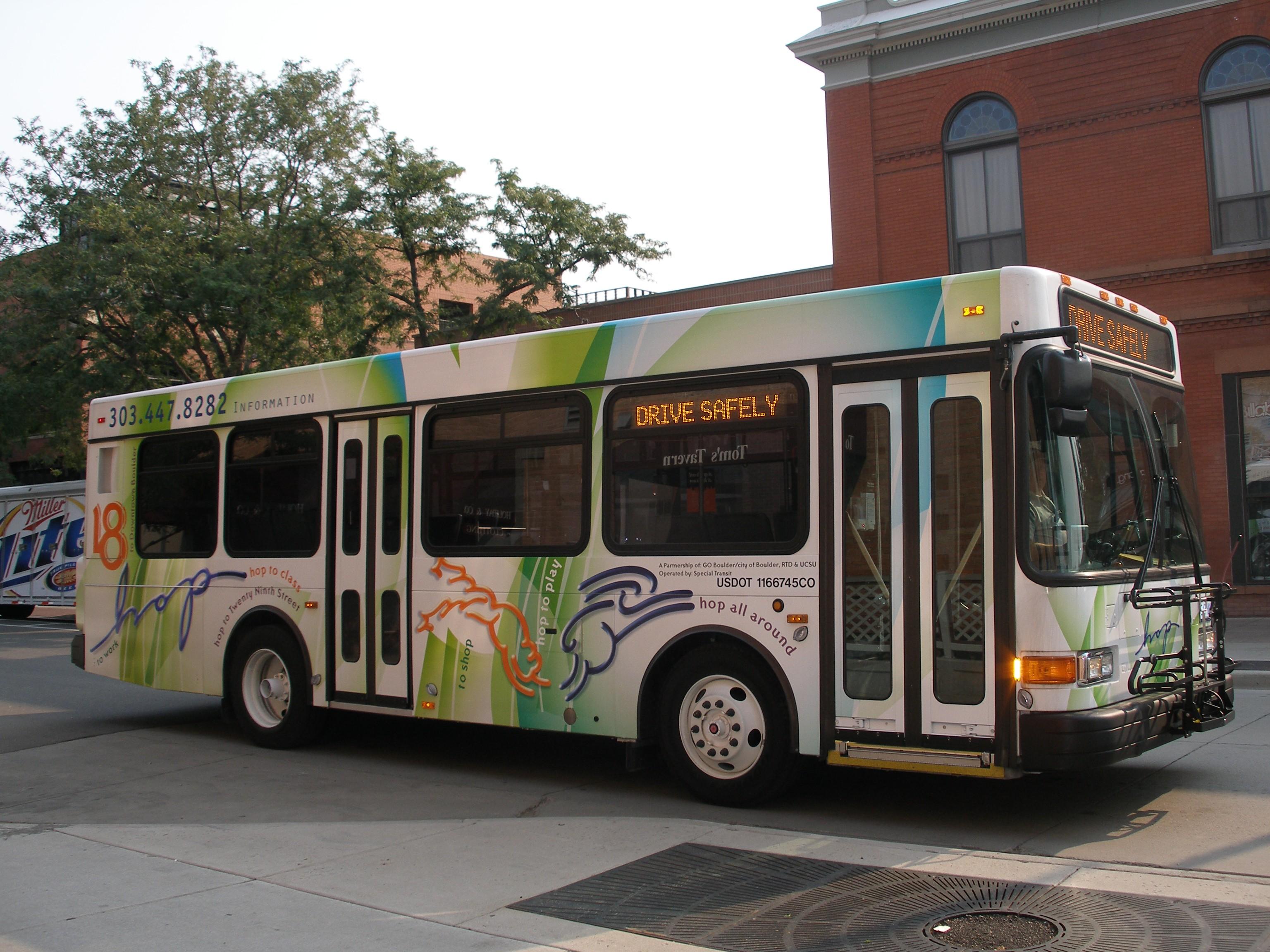 Transit in Boulder