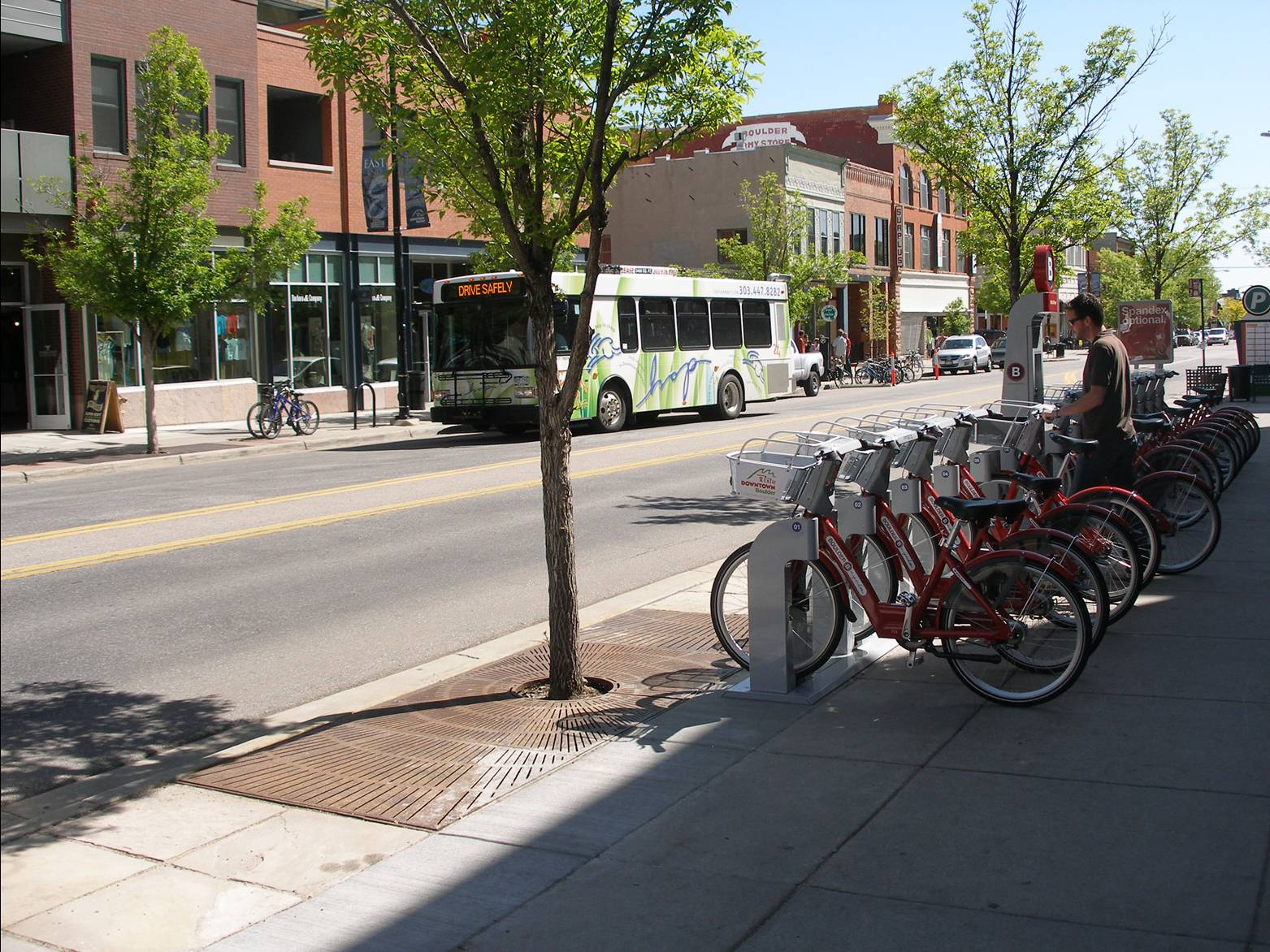 Riding the Bus in Boulder