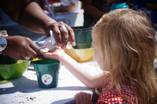 Learning to Grow Food at Egleston Farmers Market