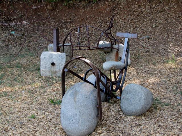 Bike Sculptures