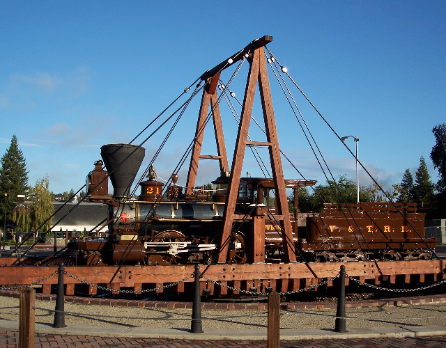 The Turntable at the Railroad Block Plaza.