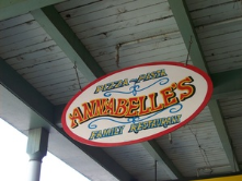 I always enjoy sitting out on the porch at Annabelle's in Old Sac