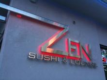 Zen sushi...yum...