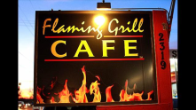 Flaming Grill Cafe' is pretty awesome - you can eat kangaroo, crocodile, wild boar, etc...