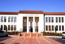 McClatchy High School - one of Sacramento's oldest schools and on the registry of historic places