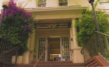 The Ella K. McClatchy Library is housed in a beautiful 1910 home on 22nd Street, between U and V.