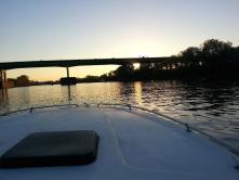 The Sacramento River...especially at sunset!