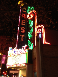Crest Theatre, Downtown Plaza I like to go downtown and I feel safe<br/>