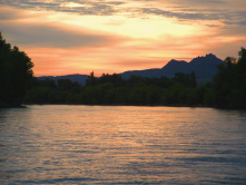 Taken at dawn while Striper fishing on the Sacramento River near Meridian.  The peace and beauty of the area is a spiritual experience.