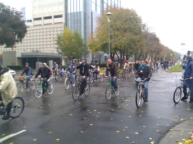 Sacramento's best places aren't locations but gatherings, such as the Appetite Enhancement Ride, pictured from the 2011 ride above.