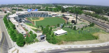 beautiful River Cat's Stadium - the place to have fun