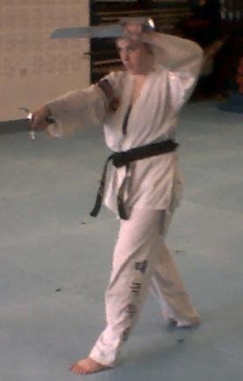 My grandmaster's martial arts dojo - Tae  Mu Sul