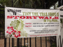 "Par-la-Ville Park, Hamilton, Bermuda - has an annual ""Storywalk in the Park."" Our children look forward to this every year!"