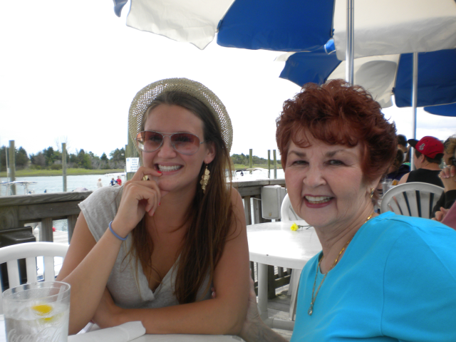 A Mother's Day tradition. Lunch at the Dockside Resturant on Arlie Rd. A long time favorite with 3 generations of my family.