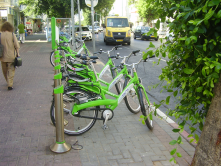 Tel-O-Fun is the bike sharing system of Tel Aviv City in Israel.