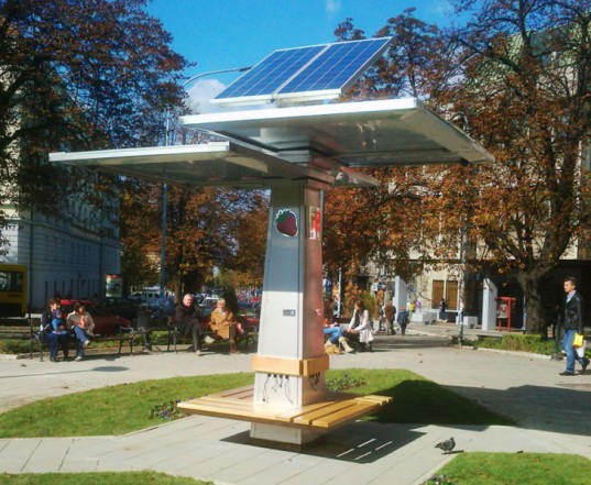 This is a docking station / charger in Serbia - http://goo.gl/pJpfbK