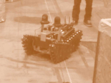 This is Kauil, a rescue robot being developed at the university i'm studying. I helped a little with it's construction