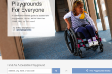 A community-driven app/site that helps you locate playgrounds that are accessible for ALL kids.