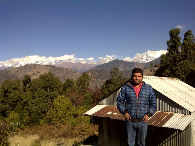 photo taken  in Himalayan area i.e. city pauri
