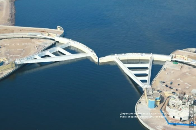 Dam in Saint-Petersburg