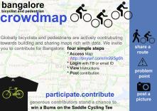 Bangalore's crowdmap