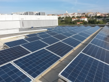 My university recently installed some solar panels on roof of its building. They plan to install more of them in the near future